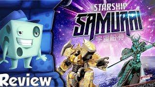 Starship Samurai: Shattered Alliances Review - with Tom Vasel