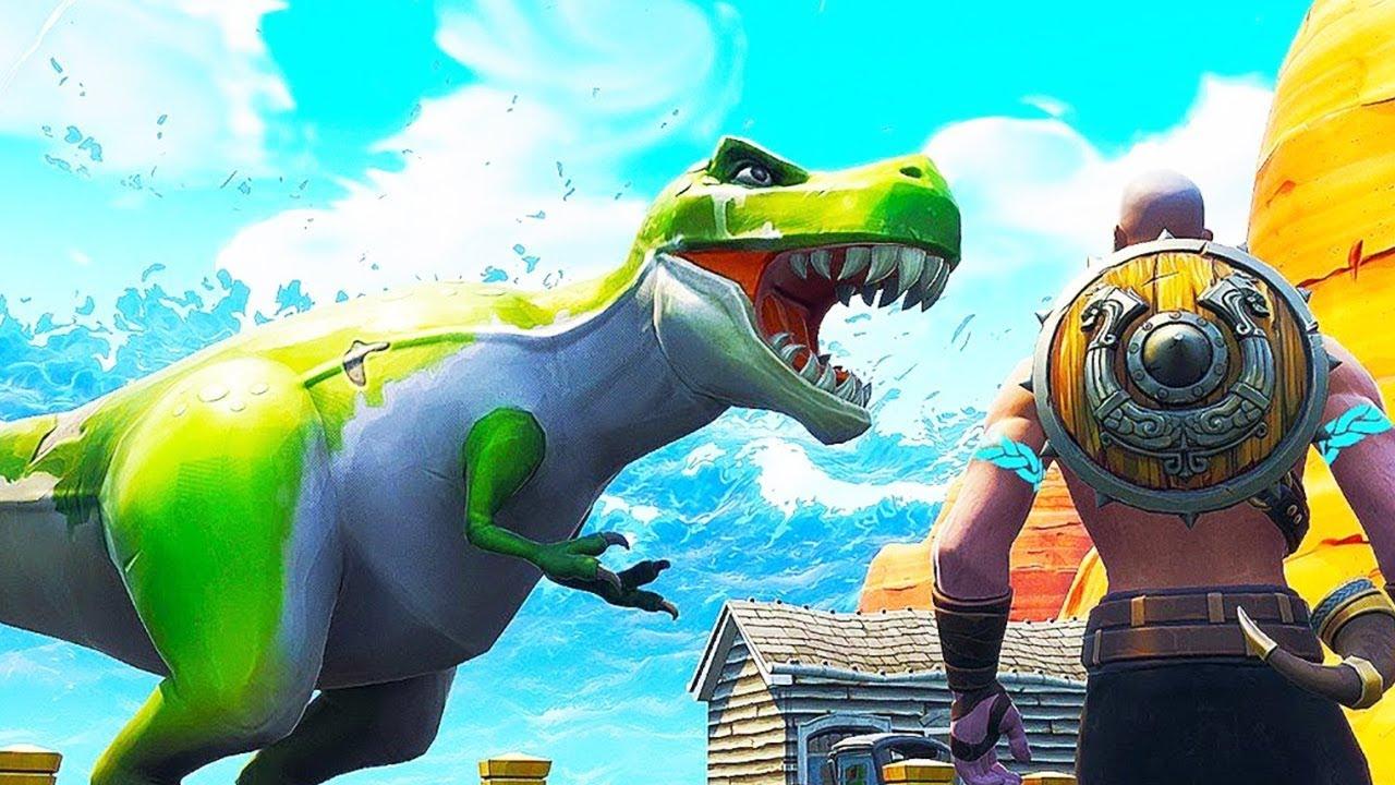 Dinosaurs Are Coming To Season 6 Fortnite Season 6 Teasers Youtube