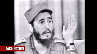 Fidel Castro on Face the Nation in 1959