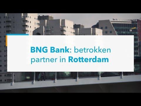 BNG Bank: betrokken partner in Rotterdam