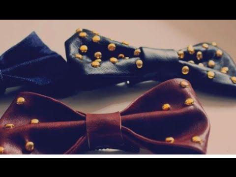 .DIY: Come creare un fiocco in ecopelle / DIY: Leather bows.
