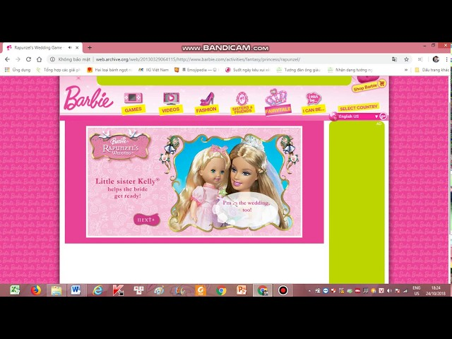 Barbie.com Old Games That You Will Love