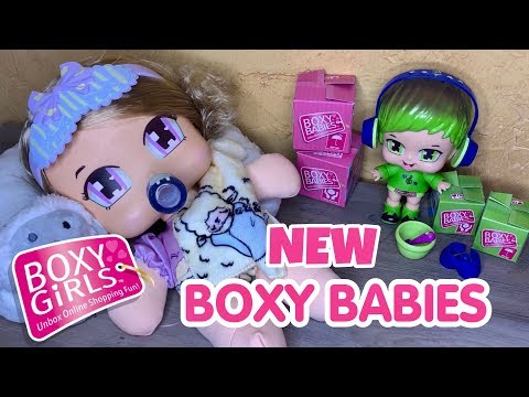 BOXY BABIES UNBOXING SAILOR AND CHARLIE