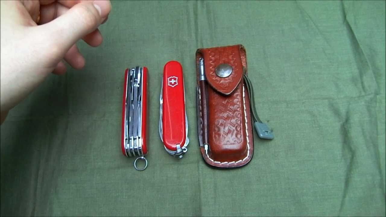 Victorinox Tinker Family A Comparison Youtube
