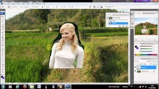 mengganti background foto dengan photoshop cs3