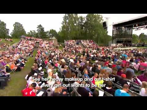 Eric Hutchinson - Rock & Roll on Allsang In Norway [LIVE]