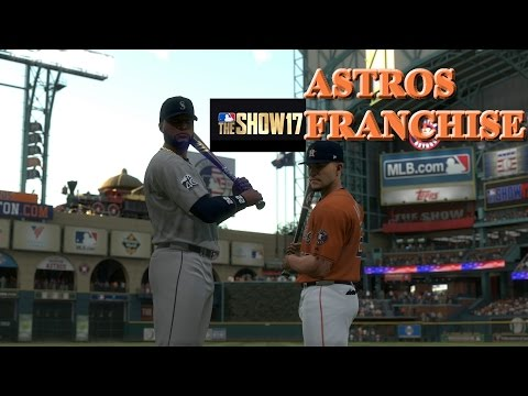 MLB The Show 17 Astros Franchise - #1 No Problem Here Houston!