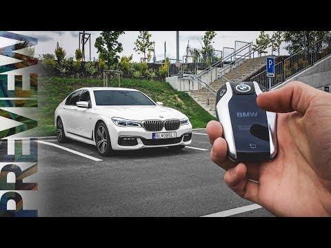 BMW 7 Series (G11) - Remote Control Parking