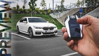 BMW 7 Series (G11) - Remote Control Parking