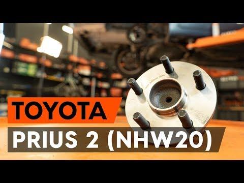 Как заменить подшипник ступицы заднего колеса на TOYOTA PRIUS 2 (NHW20) [ВИДЕОУРОК AUTODOC]