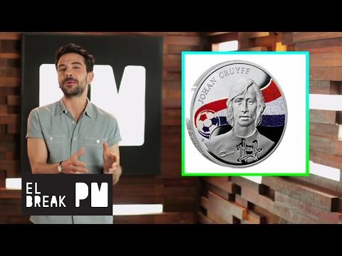El Break PM - ¡Crean moneda conmemorativa en honor a Johan Cruyff!