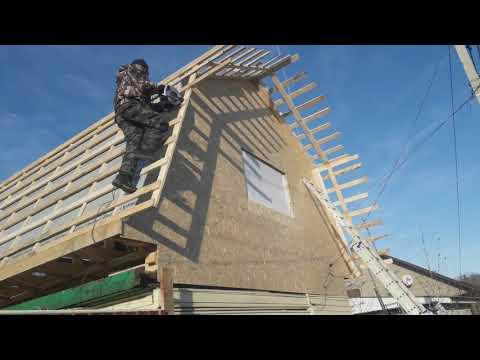Как построить ломаную крышу своими руками