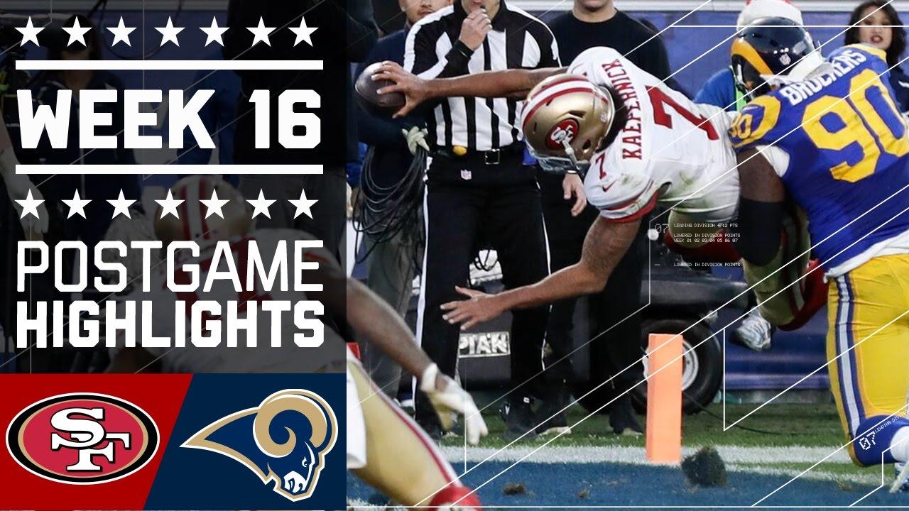 49ers vs rams nfl week 16 game highlights youtube m4hsunfo
