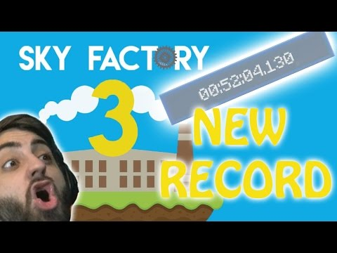 WORLDS FASTEST RUN?! | Sky Factory 3 SpeedRun