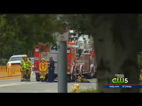 'Hazmat situation' closes portion of Tank Farm Road in SLO