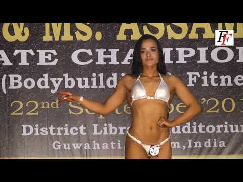 NABBA WFF Mr.  & Ms.  Assam 2018  Women's Bikini