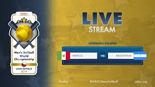 Mexico v Argentina – WBSC Men's Softball World Championship 2019