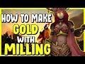 How To Make Gold With Milling In WoW BFA 8.3 - Gold Making, Gold Farming Guide