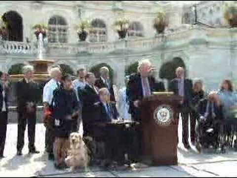 Jim Sensenbrenner Speaks on Behalf of ADA Restoration