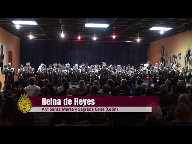 [HD] AM La Cena de León - Reina de Reyes (Estreno) - X Concierto Santa Cecilia