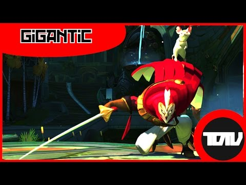 видео: gigantic announce trailer - moba и team fortress