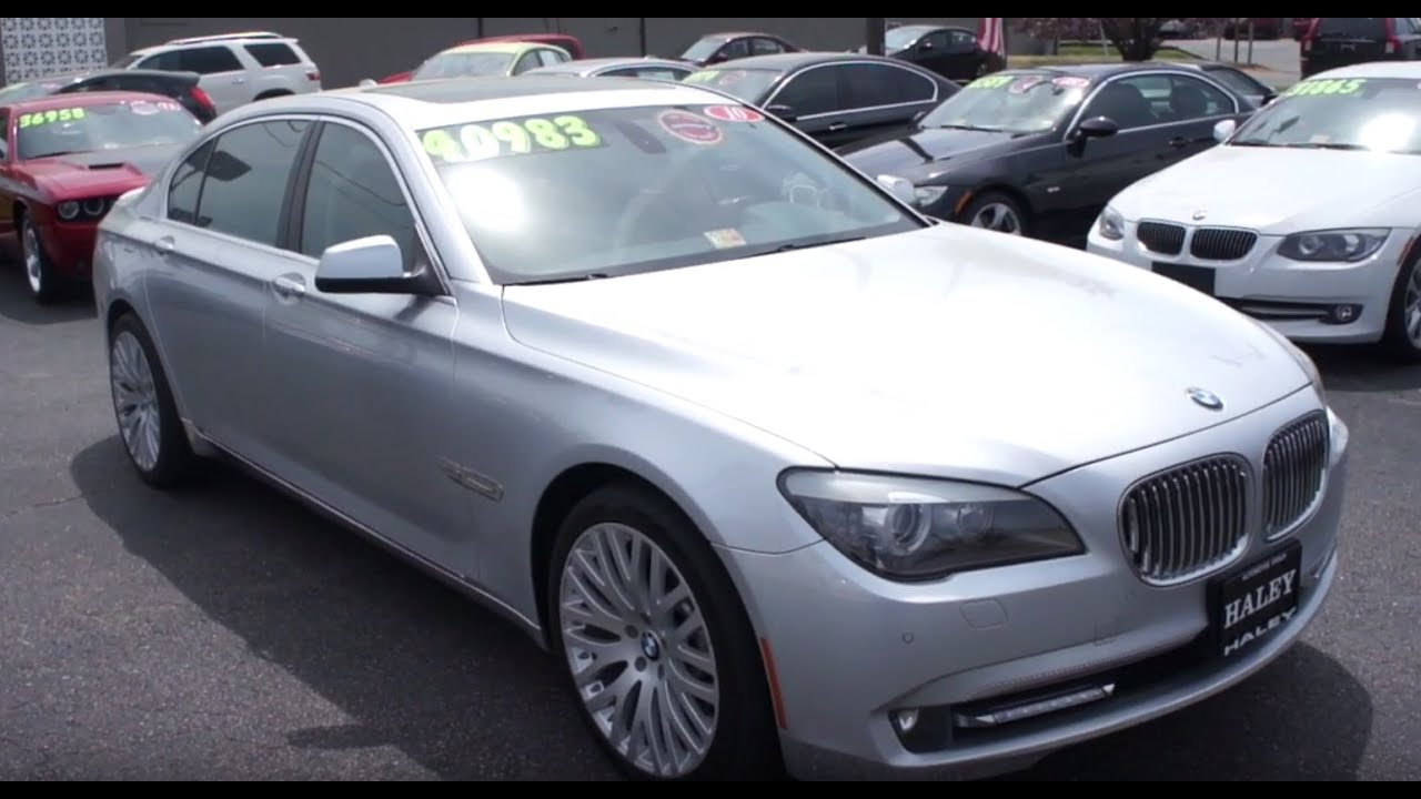 2012 BMW 750Li Walkaround, Start up, Tour and Overview   YouTube