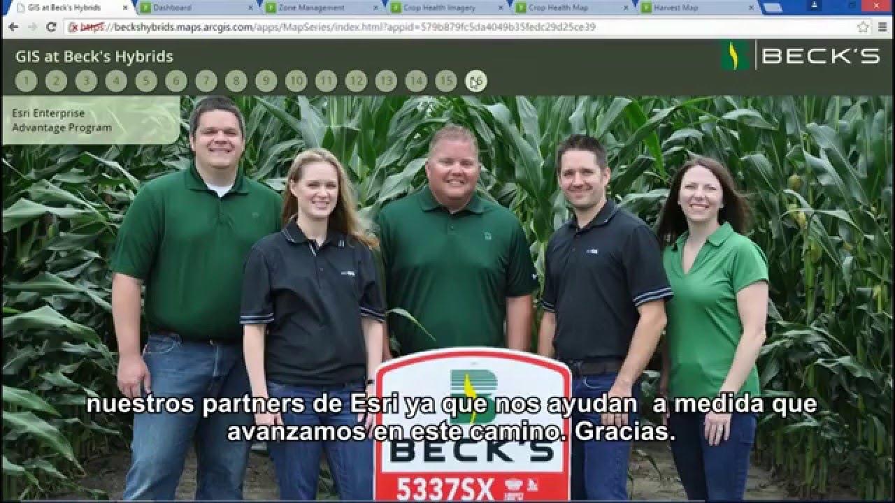 Beck's Hybrid - Agricultura de Precisión con GIS - YouTube