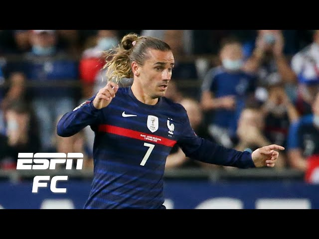 What did Antoine Griezmann do differently in France's win vs. Finland?    ESPN FC