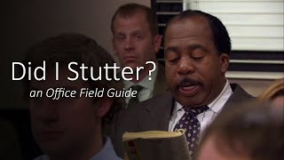 Did I Stutter? - S4E12 - The Office in Review