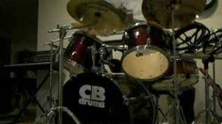 13 yr old drum solo, CB,4 cymbals, 6 Toms