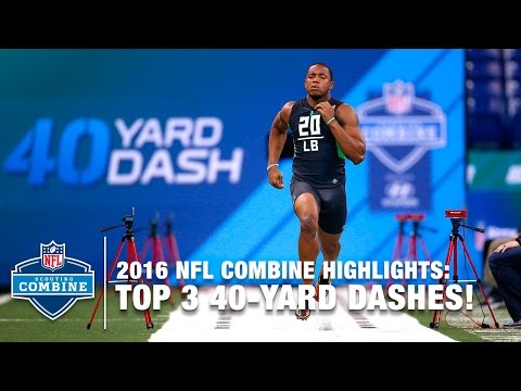 Top 3 Fastest LB 40-Yard Dashes | 2016 NFL Combine Highlights
