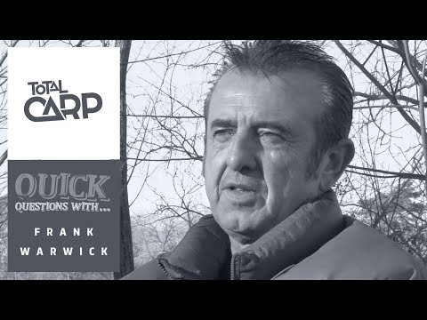 Quick Questions with Frank Warwick