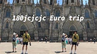 EUROTRIP LONDON & BARCELONA EPISODE 1