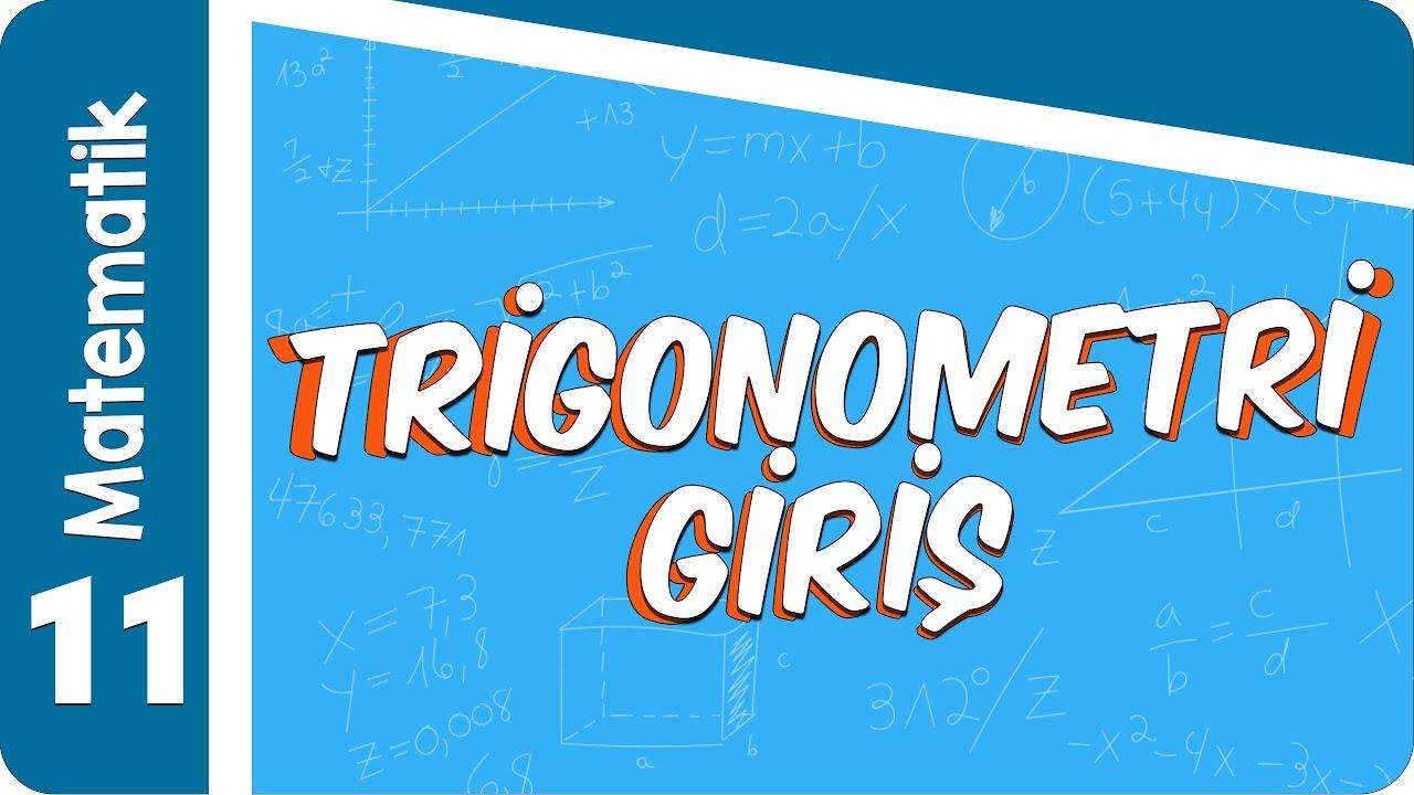 11. Sınıf Matematik: Trigonometri #2022