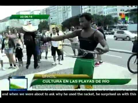 Artists and craftsmen share their talent with World Cup tourists