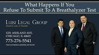 Luisi Legal Group Video - What Happens If You Refuse To Submit To A Breathalyzer Test