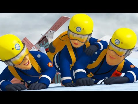 Download Youtube: Fireman Sam New Episodes | Lights, Camera, Avalanche! | Best Fire Rescues 🔥 Cartoon for Children