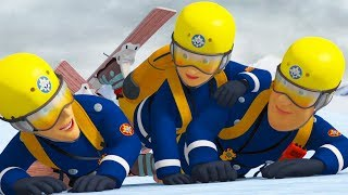 Fireman Sam New Episodes | Lights, Camera, Avalanche! | Best Fire Rescues 🔥 Videos For Kids