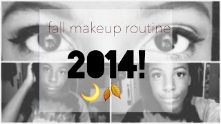 fall makeup routine 2014 Thumbnail