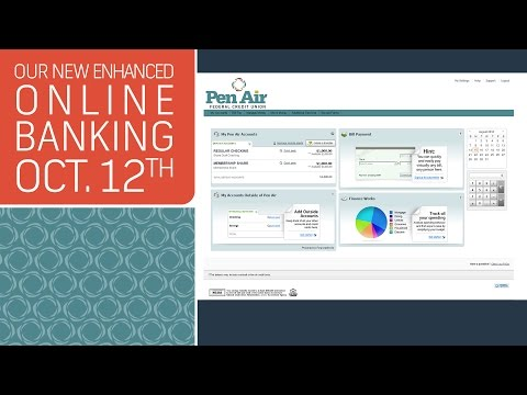 Pen Air Federal Credit Union-New Online Banking