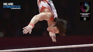 UCHIMURA Kohei (JPN) - 2015 Artistic Worlds - Qualifications Horizontal Bar