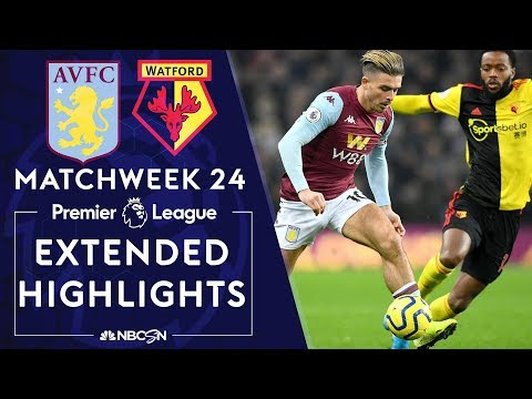 Aston Villa v. Watford | PREMIER LEAGUE HIGHLIGHTS | 1/21/2020 | NBC Sports