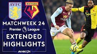 Aston Villa v. Watford | PREMIER LEAGUE HIGHLIGHTS | 1/21/2020 | NBC Sports