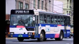 JR西日本バス エアロM 京都駅→立命館大学