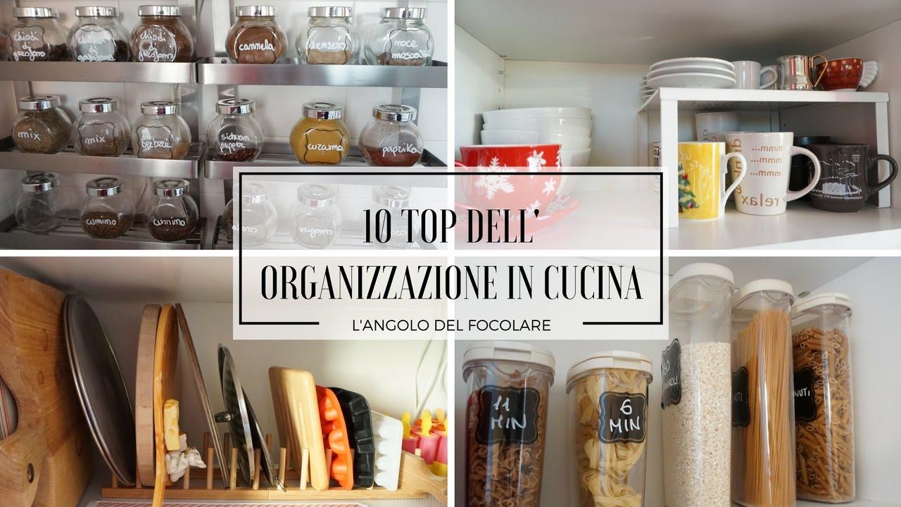 Top 10 dell\'organizzazione in cucina - YouTube