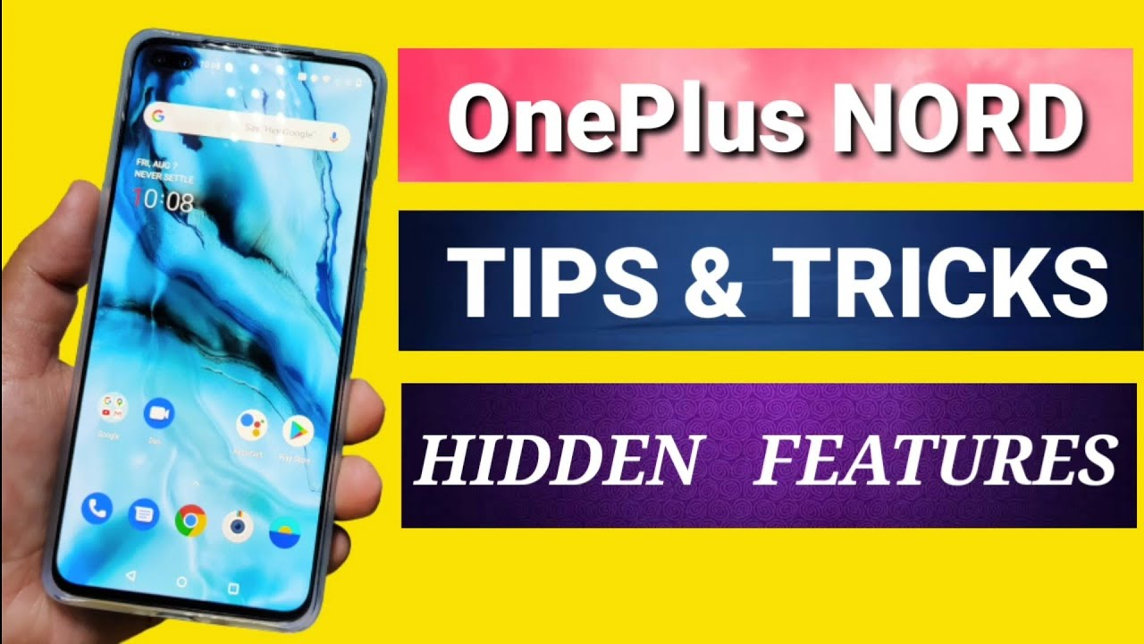 OnePlus NORD Tips & Tricks | OnePlus NORD Hidden Features