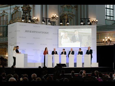 ZEIT Wirtschaftsforum 2017: Diskussionsrunde mit den Kandidaten der Parteien