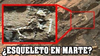 Imagen de NASA muestra un esqueleto extraterrestre en Marte   VM Granmisterio
