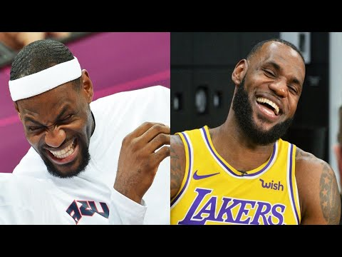 LeBron James FUNNIEST MOMENTS