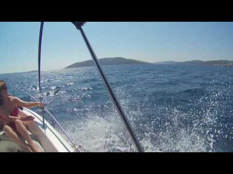 Boat rental from Trogir Croatia marina